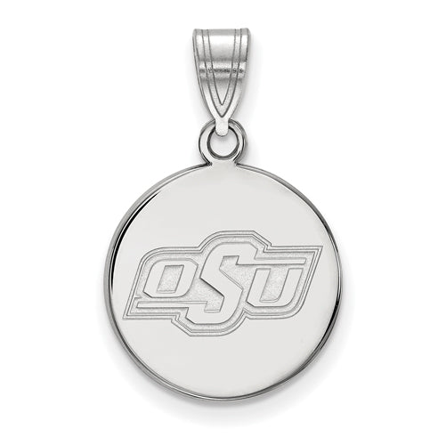 SS Oklahoma State University Medium Disc Pendant