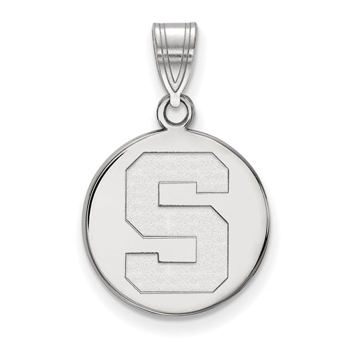 SS Michigan State University Medium Disc Spartans Pendant