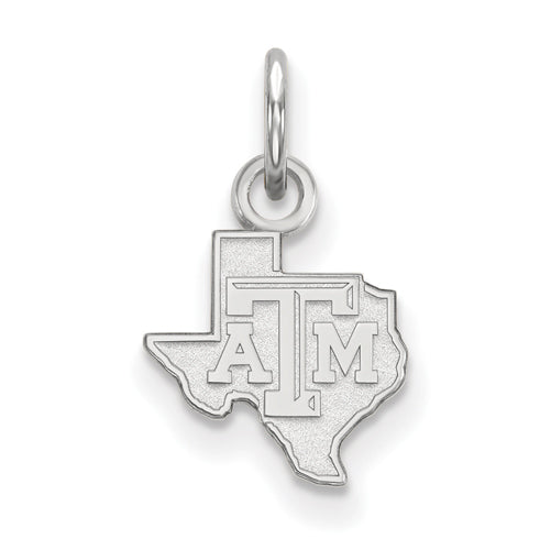 SS Texas A&M University XS State TAM Logo Pendant