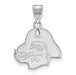 SS East Carolina University Medium Pirate Head Pendant