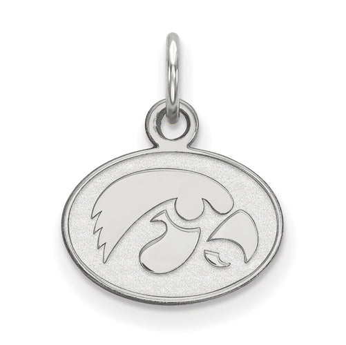 SS University of Iowa XS Hawkeye Disc Pendant
