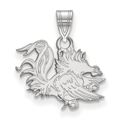 SS University of South Carolina Small Gamecock Pendant
