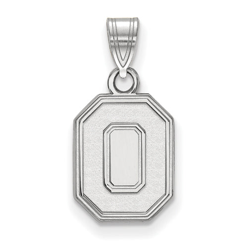 "SS Ohio State U Small Athletic ""O"" Pendant"