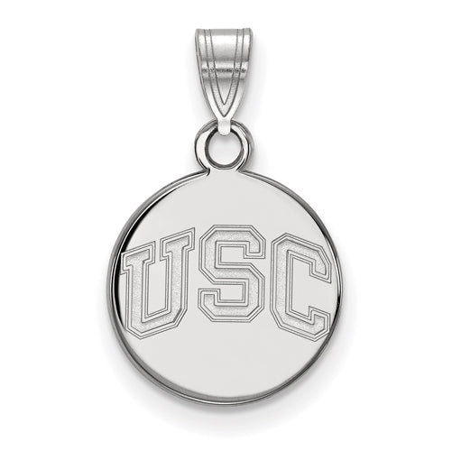SS University of Southern California Small Disc Pendant