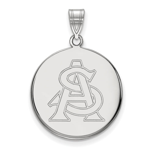 10kw LogoArt Arizona State University Large Disc Pendant