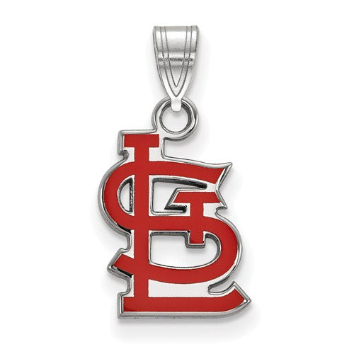 SS MLB  St. Louis Cardinals Small Enamel Pendant