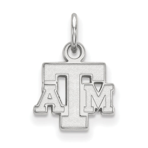 Sterling Silver LogoArt Texas A&M University XS Pendant