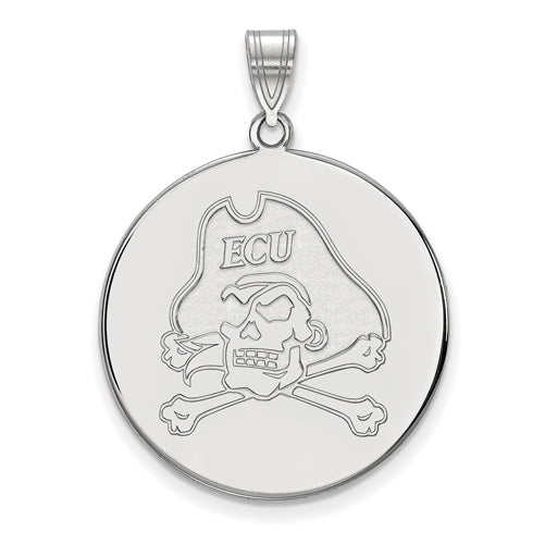 SS East Carolina University XL Pirates Disc Pendant