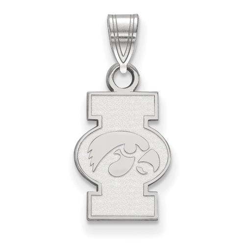 SS University of Iowa Small I Hawkeye Pendant