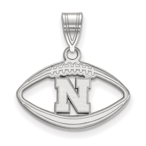 SS University of Nebraska Pendant in Football