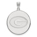 14kw University of Georgia XL Disc Pendant
