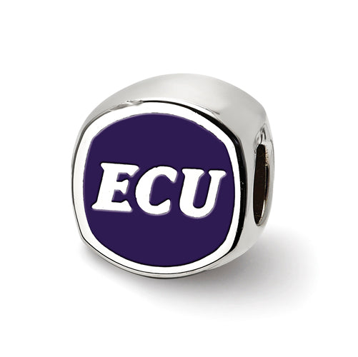SS East Carolina U Primary Cushion Shape Bead