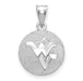 SS West Virginia University WV Basketball Pendant