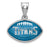 SS  Tennessee Titans Enameled Football Pendant