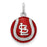 SS St. Louis Cardinals Enameled Baseball Charm
