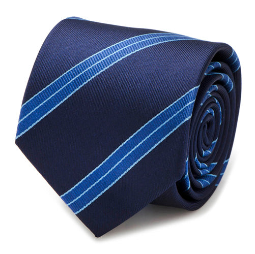 Enterprise Flight Blue Stripe Men's Tie
