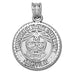 Tennessee State University Seal Silver Pendant