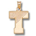 Tufts University SPLIT T 14 kt Gold Pendant