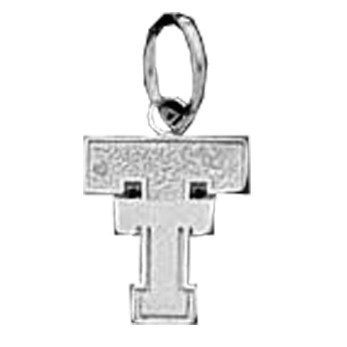 Texas Tech University TT Silver Pendant