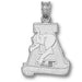 University of Alabama A Sterling Silver Pendant