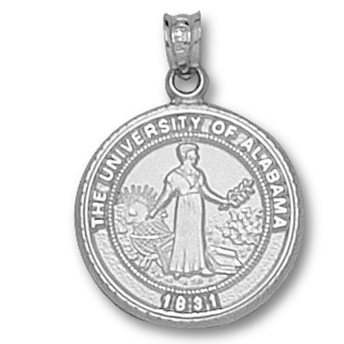 University of Alabama Seal Sterling Silver Pendant