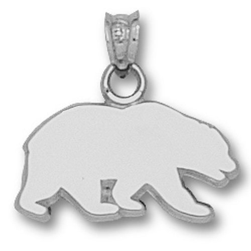 University of California BERKELEY BEAR  Silver Pendant