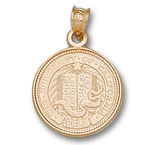 University of California at Los Angeles Seal 14 kt Gold Pendant