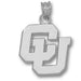 University of Colorado CU Silver Pendant