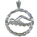 University of Florida Swimmer Pendant