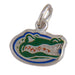 University of Florida Gator head Silver Pendant