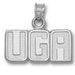 University of Georgia UGA Silver Pendant