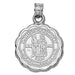 University of Kentucky Seal Silver Pendant