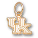 University of Kentucky UK XS 10 kt Gold Pendant