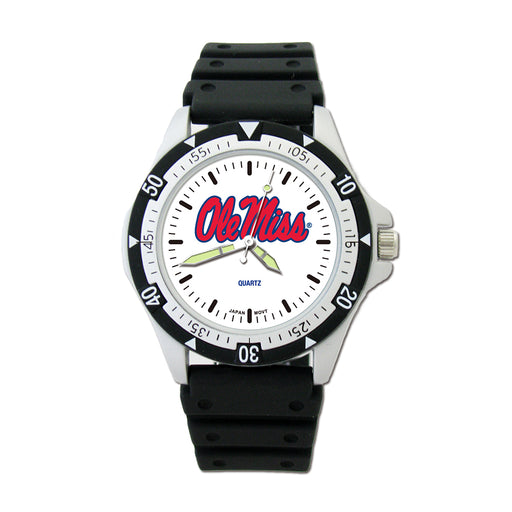 Univ Of Miss Ole Miss Option Sport Watch With PU Strap