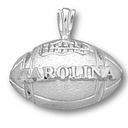 University of North Carolina FOOTBALL Silver Pendant