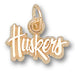 University of Nebraska Script Huskers 10 kt Gold Pendant