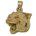University of Pittsburgh Head 10 kt Gold Pendant
