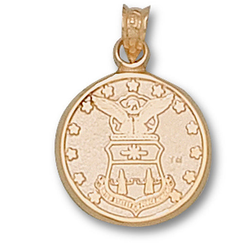 US Air Force Academy CREST 14 kt Gold Pendant