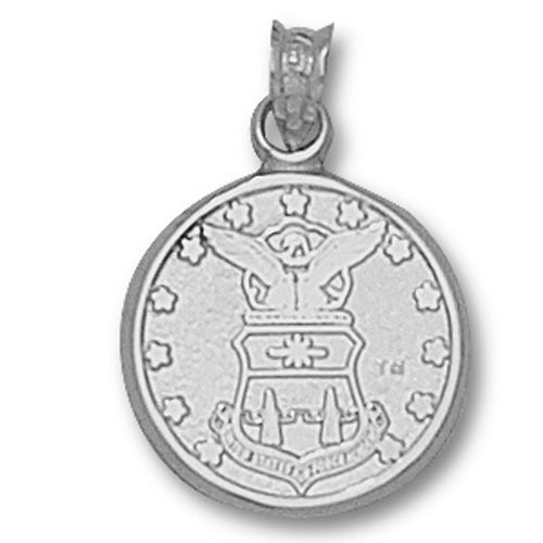 US Air Force Academy CREST  Silver Pendant