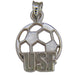 University of San Francisco USF SOCCERBALL 14 ktw Pendant