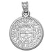 University of Texas El Paso Seal Silver Pendant
