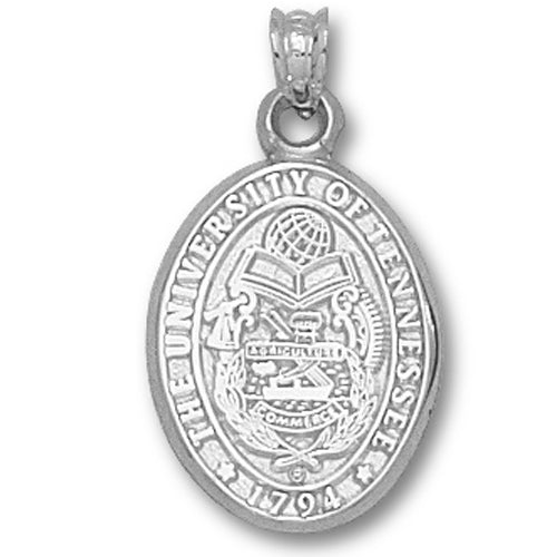 University of Tennessee Seal Silver Pendant