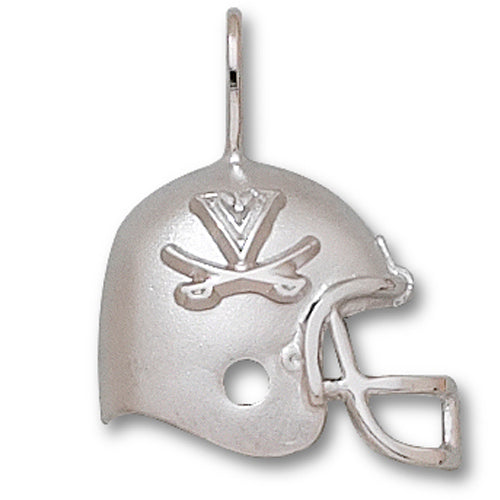 University of Virginia HELMET with SABRES Silver Pendant