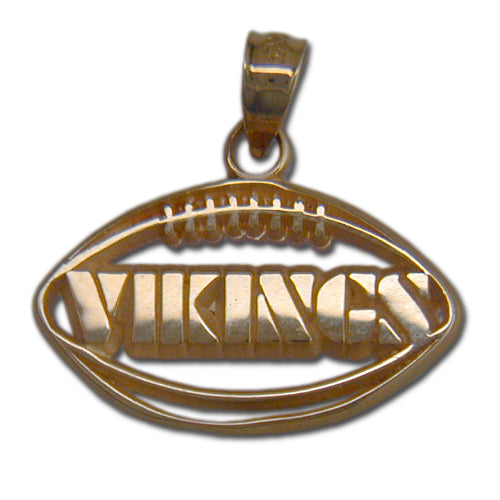 Minnesota Vikings Pierced Football