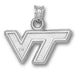 Virginia Tech University VT Silver Pendant
