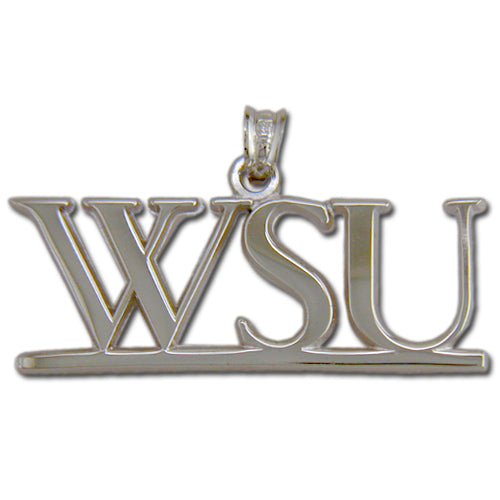 Washington State University WSU Silver Pendant