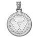 Wright State University Seal Silver Pendant
