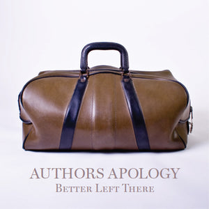 Authors Apology - Better Left There CD