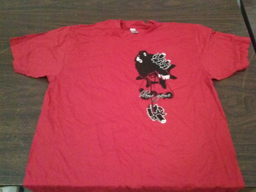 Blame Game - Red - X Large T-Shirt