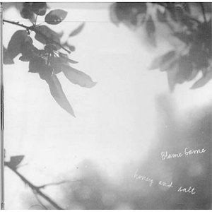 Blame Game ‎– Honey And Salt lp